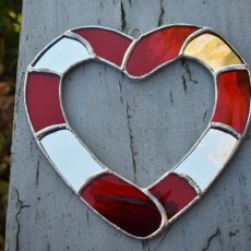 Mirror Glass Heart