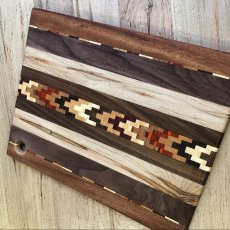 Custom Cutting Board with Inlay