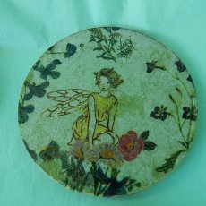 Fairy Coasters, wooden, enchanting