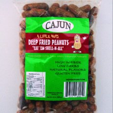 6 Pack of Cajun Deep Fried Peanuts