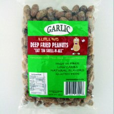 6 Pack of Garlic Deep Fried Peanuts
