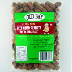 6 Pack of Old Bay Deep Fried Peanuts