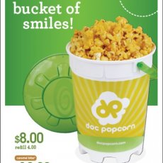 Doc Popcorn Pop Bucket