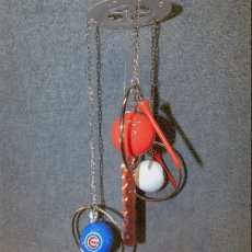 Chicago Cubs Golf Ball Wind Chime