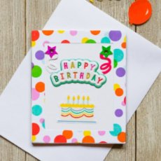 Birthday Magnetic Note Card
