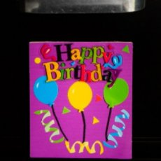Balloons themed Magnetic Birthday Greeting