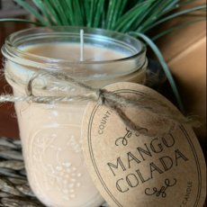Mango Colada Soy Candle 16 ounces