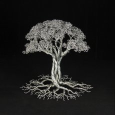 Aluminum Wire Tree of Life