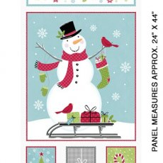 JOY Snowman Multi-color Panel