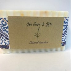 Oatmeal Lavender Handcrafted Soap