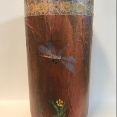 Decorative Vase Dragonflies