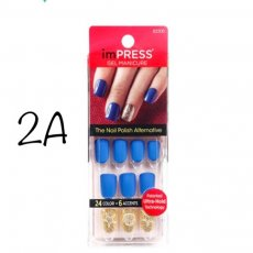 Kiss Impress~Multiple Styles!!~Press on nails~You choose~2