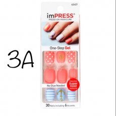Kiss Impress~Multiple Styles!!~Press on nails-You Choose!