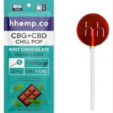 (3) Chill LolliPops -Mint Chocolate