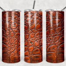 20oz Leather tumbler - Sublimation - Stainless Steel