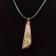Conical shaped petosky pendant