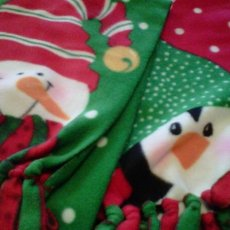 Christmas Fleece Scarves