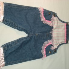 All Girlie Jean Jacket and Jean Overalls