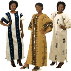 African Mudcloth Dress