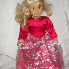 Dresses with long sleeves  fits 18 inch doll clothes