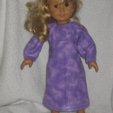 pj's, night gowns, fits 18 inch doll and 16 inch doll