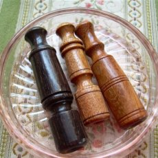 Chillum, Wood Pipe tobacco, Variety 3 pk, African black, jobllio wood, Medicinal Pipe, weird, Herb p