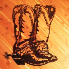 Double Boots with Spur