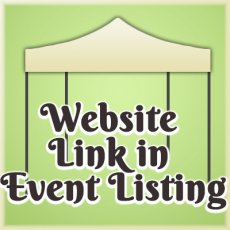 Web site link from free events search