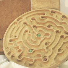 """Old Fashion"" Marble mazes"