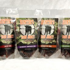 HUNTER'S BEEF JERKY - 4OZ (Case of 30)