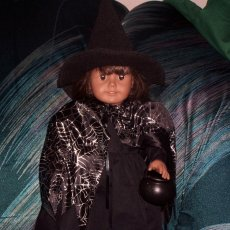 witch costume for 18 inch dolls