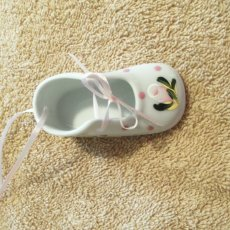 Personalized Baby Shoe Christmas Ornament