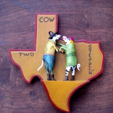 Two Steppin' Cows
