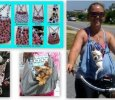 Dog-On Bag hands free pet carrier (custom)