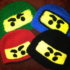Ninja Hats All Colors and Sizes - Made to Order