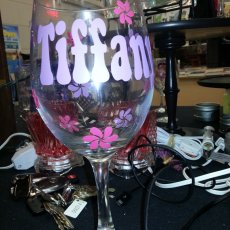 Personalized Wine Glass (large)