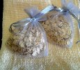 Oatmeal Shower Bag - Lavender Scented