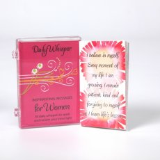 Women's Daily Whisper Card Deck