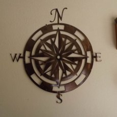 Compass Rose Wall Art