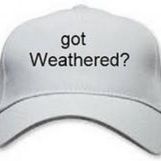 got Weathered? hat
