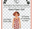 Kasia Paper Doll to Color