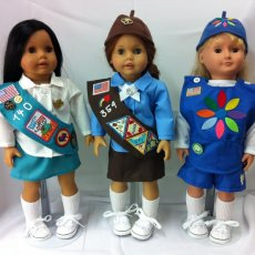 Girl Scouts of American Doll Uniforms