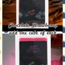 Chocolate covered strawberries tart collection