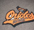 BALTIMORE ORIOLES WALL HANGING