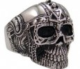 316L Stainless Steel Ancient Guard Ring