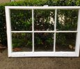 Wood window sashes